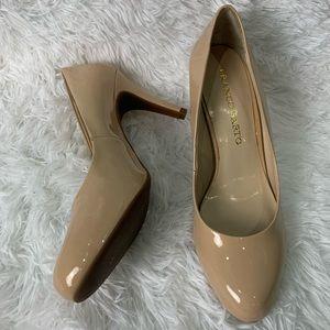 Franco Sarto Nude Round for pumps / heels 7.5
